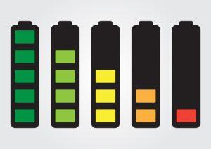 100 Watt Solar Panel and Batteries (picture)