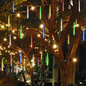 Solar Powered Christmas Lights: Tubes