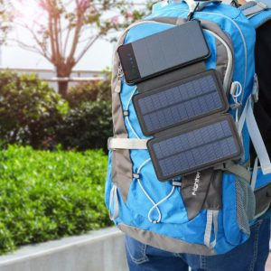 Solar Mobile Charger Backpack