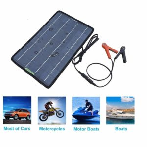 Portable Solar Trickle Charger