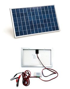 Eco-worthy solar battery trickle charger