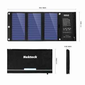 Solar Powered Cell Phone Charger by Nektek