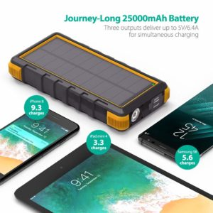 Top solar powered cell phone charger